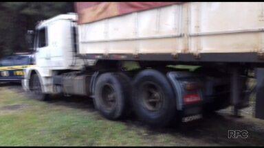 Caminhoneiro é preso com três carteiras de motorista falsas - Ele foi preso em Imbaú.