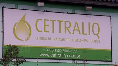 Empresa investigada por alterações na água é suspensa em Porto Alegre - A Fundação Estadual de Proteção Ambiental (Fepam) suspendeu, por tempo indeterminado, as atividades da Cettraliq, que trata líquidos químicos na Zona Norte da capital gaúcha.