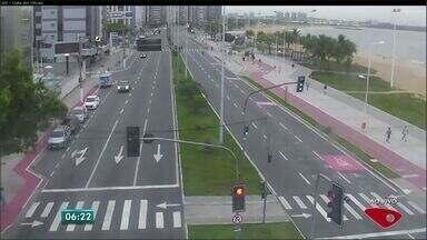 Confira as imagens do trânsito na Grande Vitória na manhã desta quinta-feira (11) - Câmeras mostram principais vias da região metropolitana.
