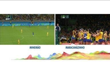 Brasil vence a Coreia do Sul pelo vôlei feminino - Brasil vence a Coreia do Sul pelo vôlei feminino