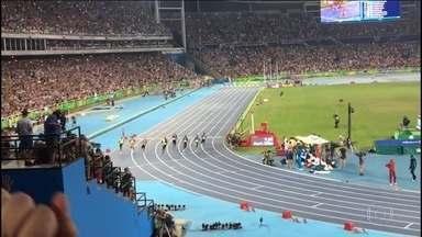 Vitória de Usain Bolt registrada pela torcida brasileira - Assista ao vídeo