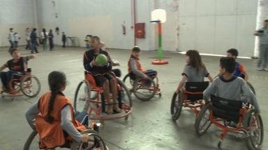 Estudantes participam de Festival Paraolímpico em Joinville - undefined