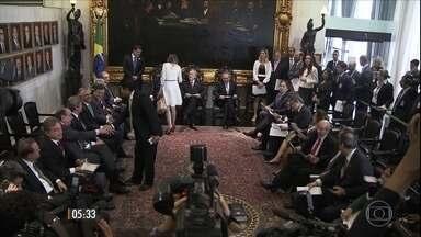 Roteiro do julgamento de Dilma Rousseff é definido após reunião entre STF e Senado - Esta é a última etapa do processo de impeachment. Presidente do STF, Ricardo Lewandowski, também participou da reunião.