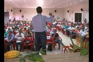 Em Altamira, um encontro reúne produtores de cacau - A reunião serve como troca de informações sobre a cacau cultura na região.