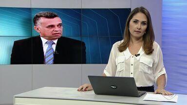 Audifax está 'mais acordado e interagindo melhor', diz Hospital - Prefeito da Serra está internado desde o dia 12, com pneumonia grave.Estado de saúde dele ainda é considerado grave.