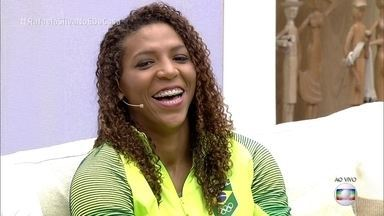 Rafaela Silva fala da conquista do ouro na Olimpíada - Atleta conta detalhes de sua preparação para os Jogos