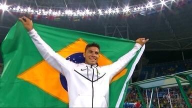 Veja os melhores momentos da semana olímpica - O Brasil ganhou medalhas em diversas modalidades.