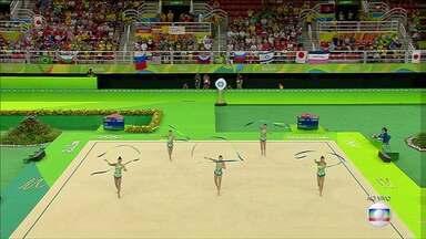 Ginasta de Toledo segue competindo nos Jogos do Rio - Morgana Gmach faz parte da equipe de ginástica rítmica.