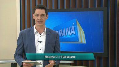 Marechal perde para o Umuarama - O time foi derrotado em casa.