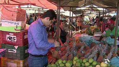 Nutricionista tira dúvidas de como escolher frutas e verduras - Saiba como escolher os alimentos de melhor qualidade.
