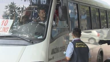 TRE-AM faz primeira blitz eleitoral em Manaus - Objetivo é orientar eleitores