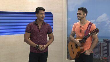Cantor Berg Badallada fala sobre suas músicas autoriais - O forrozeiro tem sete anos de estrada.