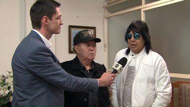 Milionário e Marciano fazem show em Cascavel - Antes da apresentação eles bateram um papo com o Valdinei Rodrigues.