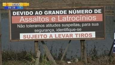 Onda de violência muda a realidade de moradores da zona rural de Joinville - Onda de violência muda a realidade de moradores da zona rural de Joinville