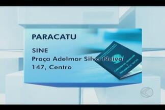 Sine Paracatu divulga oportunidades para esta sexta-feira - Há vagas para vaqueiro e padeiro. Salários variam entre R$880 e R$2.000.