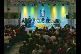 Fiéis participam do Cenáculo em Santa Rosa, RS - O evento reuniu centenas de pessoas na 21ª edição com o tema misericórdia.