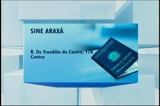Sine de Araxá divulga oportunidade para porteiro - Confira a relação de vagas disponíveis na cidade. Interessados devem procurar o Sine com os documentos pessoais.