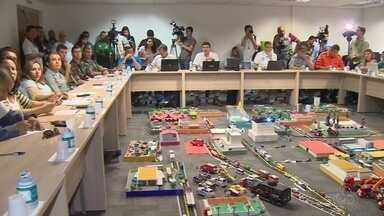 Segurança de Brasil X Colômbia no AM terá mais de 1,5 mil servidores - Plano de segurança para Brasil X Colômbia é apresentado.