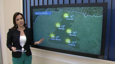 Sol volta a aparecer nesta quarta-feira em Maringá - Confira a previsão do tempo para esta semana.