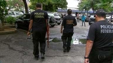 PF prende dez suspeitos de tráfico internacional e contrabando de armas - Operação Minotauro foi deflagrada em Pernambuco e mais quatro estados.