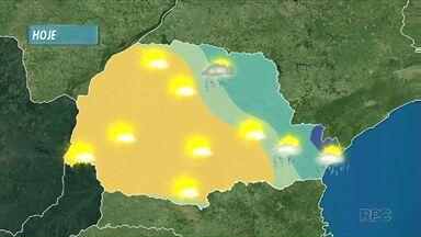 Temperaturas não sobem muito na tarde desta quarta-feira - Veja a previsão do tempo para a região