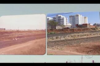 Uberlândia completa 128 anos e moradores prestam homenagens - Dona Geni conta a história do Bairro Alto Umurama. Até sexta-feira (2), o MGTV vai contar história de pessoas que ajudaram no desenvolvimento da cidade.