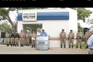 Posto de policiamento comunitário é inaguruado em Governador Valadares - Posto fica na Rua Sete de Setembro.