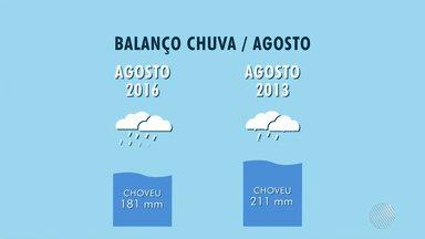 Previsão do Tempo: Agosto de 2016 foi o mês mais chuvoso dos últimos 15 anos - Em setembro, que começa nesta quarta (1), chuva deve ser isolada.