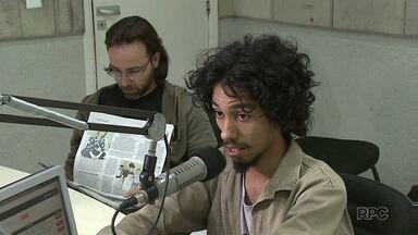 ParanáTV acompanha a agenda do candidato a prefeito Paulo Silva, do PSOL - Ele concedeu entrevista a uma rádio de Londrina.