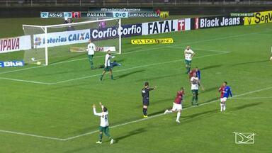 Sampaio perde com gol no último minuto e se afunda na lanterna da Série B - Sampaio perde com gol no último minuto e se afunda na lanterna da Série B