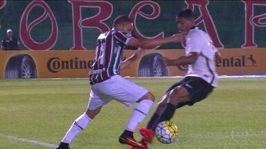 Fluminense empata com o Corinthians pelas oitavas de final da Copa do Brasil - Com o resultado de 1 a 1, o Timão leva vantagem no segundo confronto em São Paulo.
