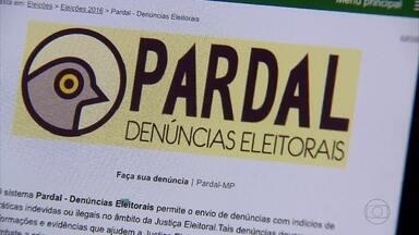 Aplicativo permite eleitores fazerem denúncias de irregularidades na propaganda eleitoral - Pardal está disponível gratuitamente.