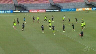 Seleção brasileira faz treino em Manaus - Time vai enfrentar a Colômbia no dia 6 de setembro.