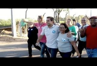 Rafael Diniz faz caminhada no Jardim Aeroporto em Campos, no RJ - Rafael Diniz faz caminhada no Jardim Aeroporto em Campos, no RJ.