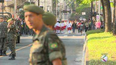 Sete de Setembro é celebrado em Juiz de Fora - Desfile será realizado na Avenida Rio Branco.