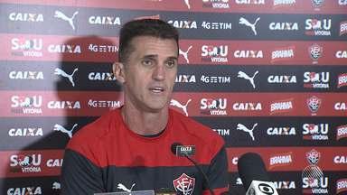 Mancini trabalha na motivação do Vitória para jogo contra o Atlético-MG - Confira as notícias do rubro-negro baiano.