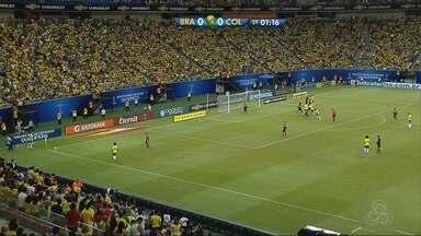 Brasil vence Colômbia e fica na vice-liderança - Seleção pula do sexto para o segundo lugar das eliminatórias da Copa do Mundo.
