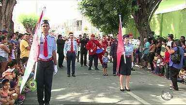 Veja como foram os desfiles de 7 de setembro em Caruaru, Garanhuns e Serra Talhada - Nesta quarta-feira (7) comemora-se o dia da Independência do Brasil.
