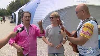 'Bem Estar Global' terá apresentações musicais - Nunes Filho e Zezinho Correa estão entre atrações.