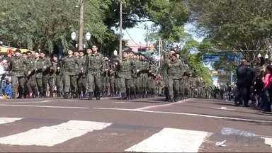 Veja como foi desfile da Independência do Brasil em Dourados, MS - Veja como foi desfile da Independência do Brasil em Dourados, MS