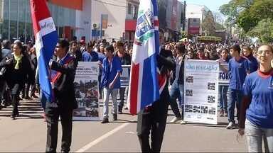 Veja como foi desfile da Independência do Brasil em Ponta Porã, MS - Veja como foi desfile da Independência do Brasil em Ponta Porã, MS