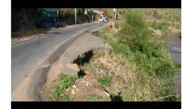 Moradores e motoristas reclamam das condições da RJ-134, na Região Serrana - Via liga distrito de Petrópolis a Teresópolis, passando por São José do Vale do Rio Preto.