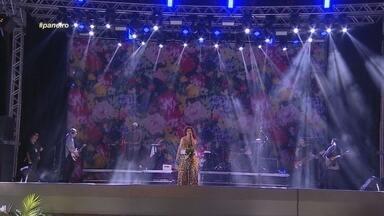 ''Boa Sorte' eu não cantava há quase 5 anos', diz Vanessa da Mata - Cantora destaca emoção de retornar à capital amazonense.