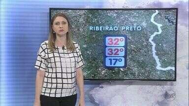 Confira a previsão do tempo para este sábado (10) na região de Ribeirão Preto, SP - Meteorologistas preveem temperatura máxima de 32ºC.