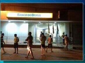 Quadrilha explode agência bancária no interior do estado - Quadrilha explode agência bancária no interior do estado