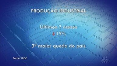 Produção industrial cai 15% em sete meses no Amazonas, aponta IBGE - Na comparação entre junho deste ano e julho de 2015 queda foi de 4,4%.