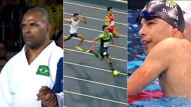 Brasil conquista mais três medalhas na Paralimpíada: Judô, atletismo e natação - Brasil conquista mais três medalhas na Paralimpíada: Judô, atletismo e natação