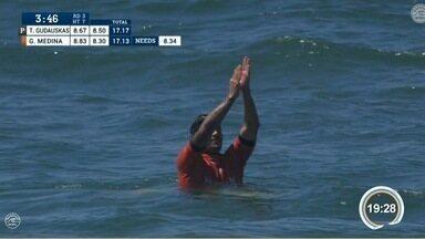 Gabriel Medina foi eliminado da etapa EUA do Mundial de Surfe - Torcida agora é por Filipinho Toledo.