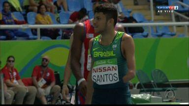 Paraibano vai disputar ouro no atletismo na Paralimpíada do Rio - Petrúcio Ferreira dos Santos é da cidade de São José do Brejo do Cruz.