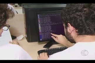 Uberlândia sedia etapa da Maratona de Programação - Evento é promovido pela Sociedade Brasileira de Computação.Mais de 170 alunos de várias faculdades da cidade e da região participaram do evento.